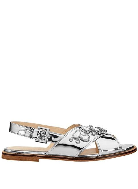Nine West Sandalet Gümüş